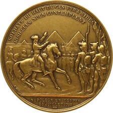 A3703 Médaille Egypte Pyramides 1798 Denon Jaley Napoléon I -> Faire offre