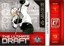 2010-11 Donruss The Ultimate Draft #11 Dustin Brown