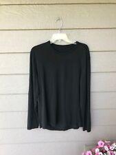Lululemon Mens 5 Year Basic LS Long Sleeve BLACK SZ L