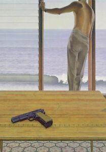 South Pacific Man With A Gun Alex Colville Fine Art Canvas A3