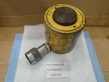 """New listing D414 Enerpac Rlc 201 Ak6 20 Ton 1"""" Stroke Hydraulic Cylinder w/ Saddle & Coupler"""