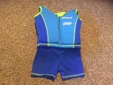 Pre Owned SwimSchool Med/Large Life Vest with Attached Shorts.  UPF 50+