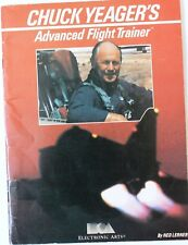 Vntg Chuck Yeager's Advanced Flight Trainer Booklet - 1987