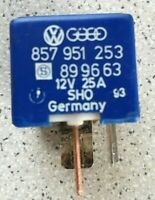 VW Audi Seat Skoda SHO Blue Relay No 67 relay 12V 857951253 899663 Genuine