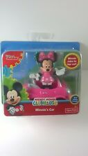 Minnie's Car Mickey Mouse Clubhouse Disney Junior Real Rolling Wheels New
