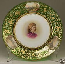 Museum Quality Moser Harrach Josephinenhütte Dunkelgrün Glass c.1860