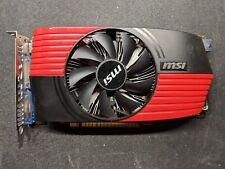 MSI NVIDIA GeForce GTX 550 Ti (N550GTX-TI-M2D1GD5/OC) 1 GB GDDR5 SDRAM PCI...