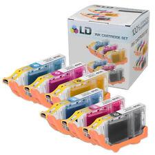 LD 6 Pack BCI6 Black & Color Ink Cartridge Set for Canon Printer