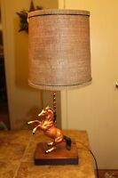 MODEL HORSE LAMP with Breyer Horse Really Cool