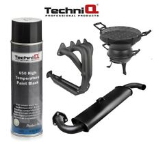 BLACK Special VHT Paint Exhaust Stove BBQ Manifold 650 Degrees 500ml Large Can