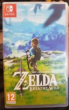 The Legend of Zelda Breath of the Wild (Nintendo Switch 2017) - UK Version USED