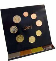 Portugal KMS 2007 1 Cent bis 2 Euro Kursmünzensatz Stempelglanz im Folder