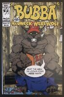 Bubba The Redneck Werewolf #1 first printing 2002 Comic Book