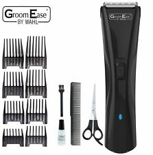 WAHL 9698-417 Mens Rechargeable Hair Beard Clipper Kit Cord/Cordless Trimmer Set