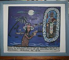 Retablo/Ex-Voto Patron Saint of Mexican Kitchens Sofia Prays For? Signed Velez