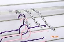 12 Waterfall Garment clothing Hanger Rack 5 Bead for Market Stall Gazebo Marquee