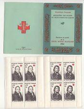 Carnet Croix Rouge N°2013 de 1964 : Timbres N°1433 + 1434. Corvisart, Larrey