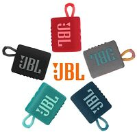 JBL Go 3 Portable Bluetooth Waterproof Speaker