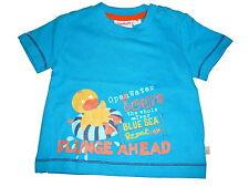 NEU Liegelind tolles T-Shirt Gr. 68 blau mit Enten Motiv !!