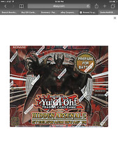 i Yu-Gi-Oh Hidden Arsenal 5: Steelswarm Invasion Booster Box 1st ed free ship