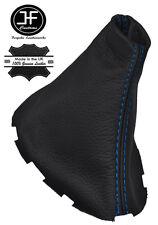 Manual De Costura Azul Cuero Polaina gear palo se ajusta Renault Megane MK2 03-08