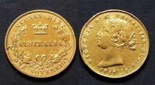 Australie Coloniale - Sydney Souverain Victoria 1867 - OR 7.99 gr