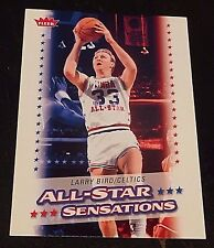 LARRY BIRD 2008-09 Fleer ALL-STAR SENSATIONS Insert Card SP #AS-14 Rare CELTICS