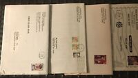 Lot of 4 Vintage Stamp Dealers Mail Order Catalogs from Years 2000-2001