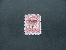Samoa 1899 Provisional Govt. 1d chestnut SG91 MM