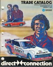 NOS Vintage 1979 Mopar Direct Connection Performance Catalog Sox&Martin Hemi 440