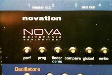 Novation Nova Desktop Synthesizer