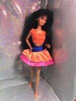 Kira Barbie Doll Vintage Asian Beauty Pumps Vintage Colorful Long Hair Beauty