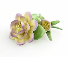 #e5087 PMP Porzellan Manufaktur Plaue Schierholz Blume
