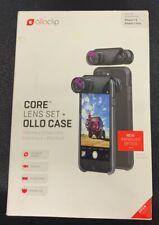 Olloclip Core Lens Set + Ollo Case for iPhone 7/7 Plus; New improved optics