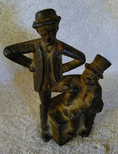 Vintage A.C. Williams 1912 Cast-iron Still Bank Mutt and Jeff Comic Characters 2