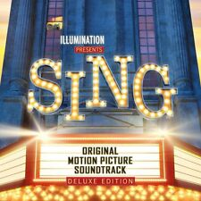 SING Soundtrack DELUXE Edition CD NEW 2017 Faith feat. Ariana Grande