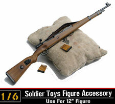1/6 Dragon WWII Army Karabiner Kar.98k CARBINE Rifle Clip Gun Model Sandbag Toys