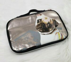 Fuzzy Nation Pug Dog IPad Tablet eBook Reader Carrying Case Sleeve Zippered Bag
