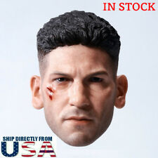 1/6 CUSTOM Punisher Head Sculpt Jon Bernthal For Hot Toys TBLeague Male Figure