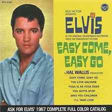 Elvis, Easy Come, Easy Go CD : FTD Special Edition / Classic Movie Soundtrack Al