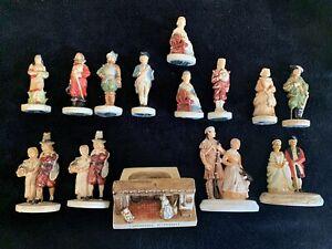 14 Midcentury Colonial Figures A Sebastian Miniatures Prescott W Baston 1938-58