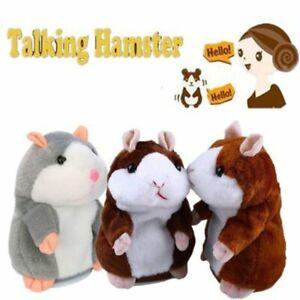 Sprechender Hamster sprechender Talking hamster Kuscheltier Plüschtier Spielzeug