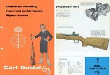 Carl Gustaf c1960 63, 63E, 63S Biathlon Rifle Flyer Collection