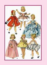"18"" Sweet Sue Toni Revlon by American Character 1336 Doll Clothing PATTERN"