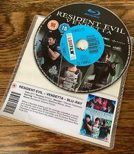 Resident Evil Vendetta - Blu Ray * DISC ONLY * Capcom Animated zombie Horror