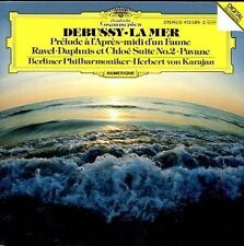 Debussy La Mer; Ravel Daphnis et Chloe - Berliner - Karajan