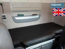 FITS  NEW DAF XF 106 TRUCK ECO LEATHER BED COVER  -BLACK Trucks Accessories