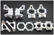 baja CNC alloy hub carrier set sliver color 1/5 rc car gas