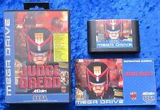 Judge Dredd, OVP Anleitung, SEGA Mega Drive Spiel