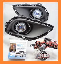2013 2014 2015 Mazda CX-9 Clear Fog Light Kit H11 PERDE 6000K wiring+switch